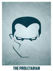 Superheroes and villains minimal art posters (6)