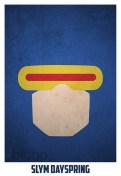 Superheroes and villains minimal art posters (61)