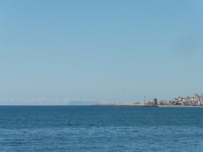 Puerto Banús and Gibraltar from Marbella Club jetty