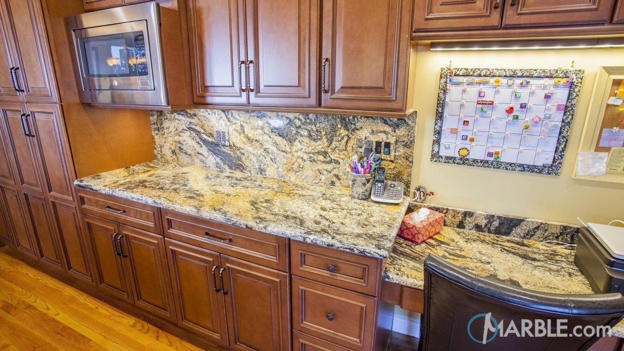 Magma Gold Kitchen Granite Countertops