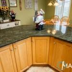 Tropical Green Kitchen Granite Countertops Marble Com