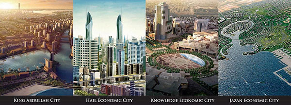 Saudi Arabia economic cities