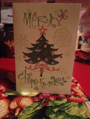1st Christmas Card