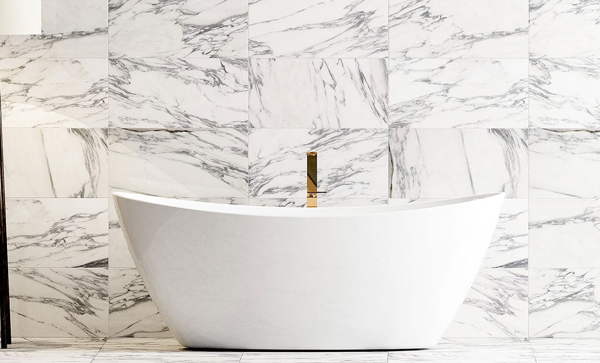 calacatta marble tiles how to achieve
