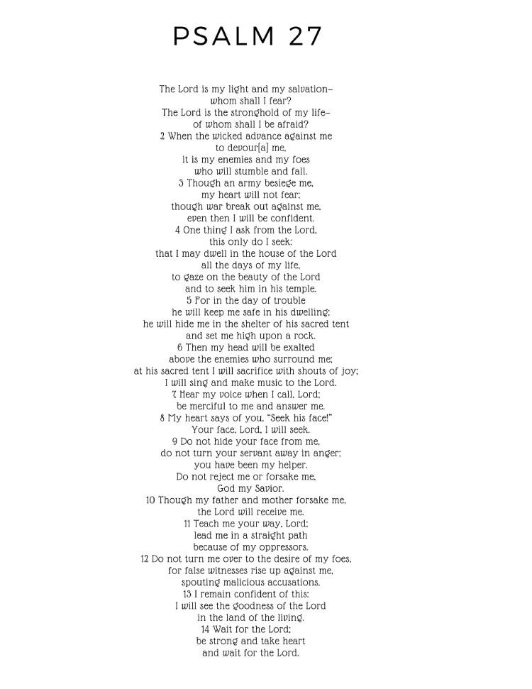 Psalms 27