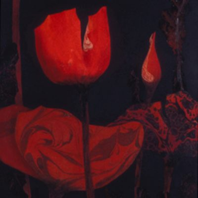 Monita Mahoney, Greer, South Carolina, Acrylic on paper, acrylic painting, collage, 18 x 21 in
