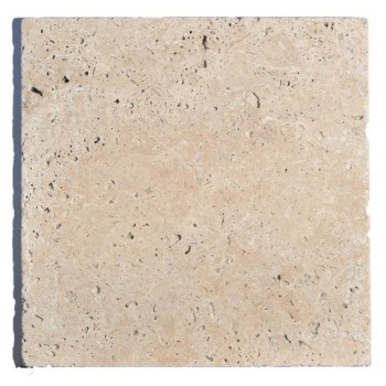 Dalle TRAVERTIN RUSTIC 40,6 cm x 40,6 cm