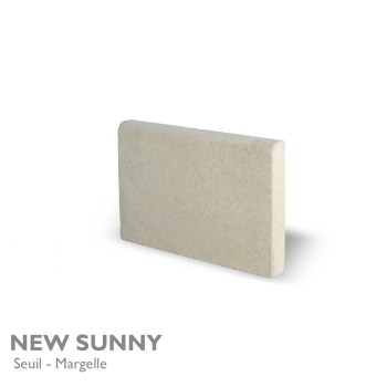 Seuil et margelle NEW SUNNY 60 x 35 cm