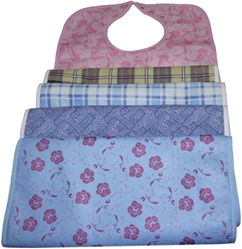 waterproof towelling bibs