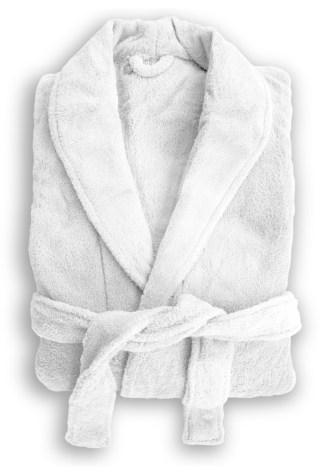 Microplush Robe White