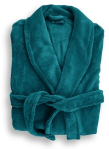 Microplush Robe Teal