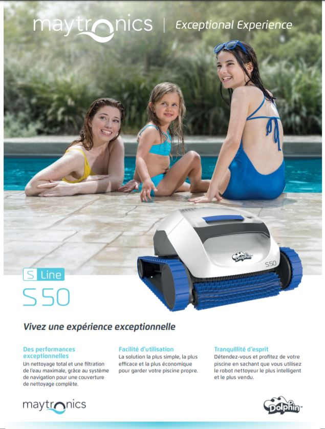 Robot Dolphin S 50, Robot Dolphin S 50, Marc Robin Piscines