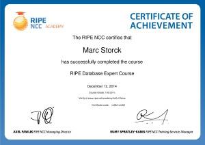 RIPE-database-expert