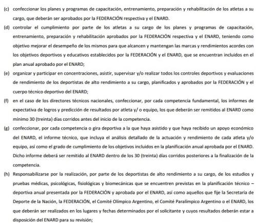 Obligaciones-ENTRENADORES