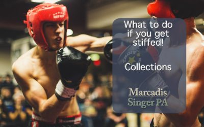What To Do If You Are Getting Stiffed (part 1 collections)