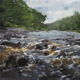 The Bad River 20x30-Sold