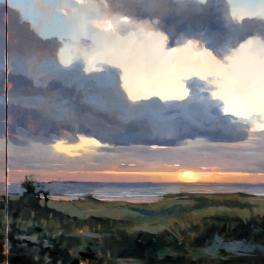 Delray Beach Triptych 24x72-Sold