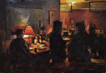Dinner in Eau Claire 20x30 $1200