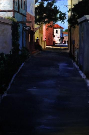 St. Augustine Alley 24x36- Sold