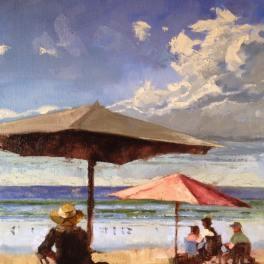 Beach Day 11x14
