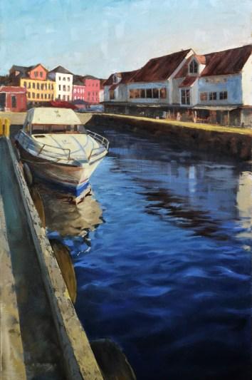 Bergen Harbor 20x30- Sold