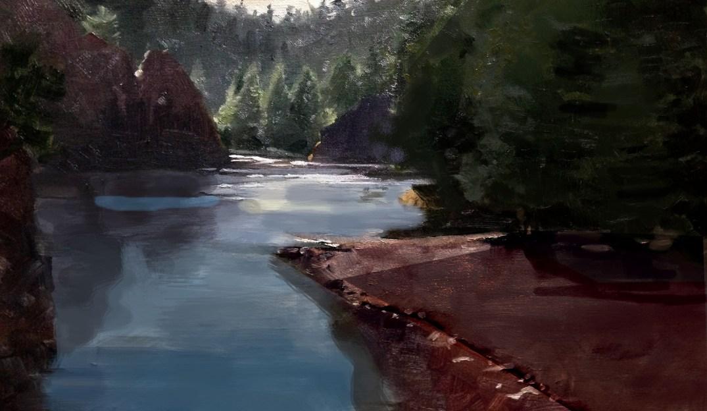 Bad River Bend Edit