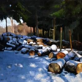 The Woodpile 24x36