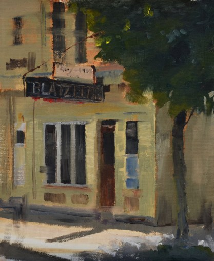 Cold Beer in the Summer Shade -Sold