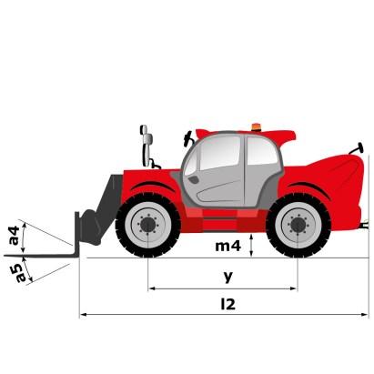 Schéma d'encombrement (vue de côté), MLT 840
