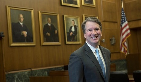 Official Portrait of Brett Kavanaugh