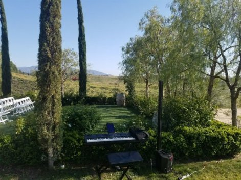 Pianist Vocalist Faulkner Winery Wedding