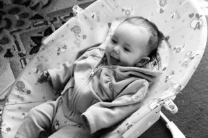 Baby Amber Smiles 23 March 2013