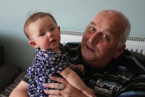 Amber and Grandad (my dad).