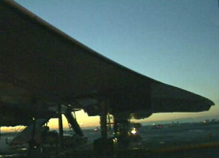Concorde at sunrise image