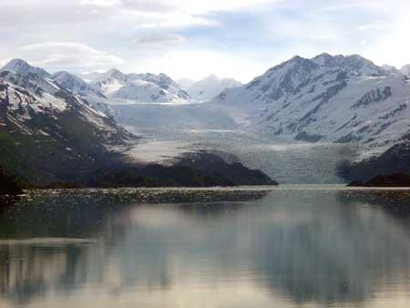 Alaska glacier image