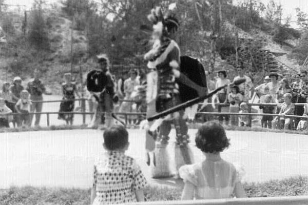 Disneyland 1955 Native American Show