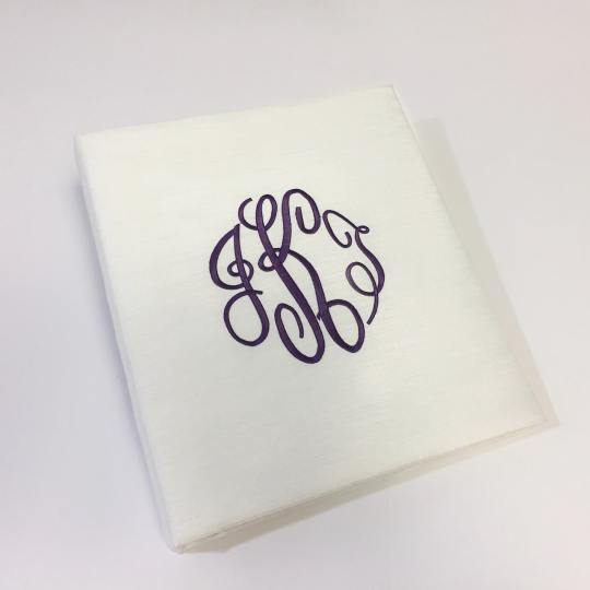 KWR-S-Candlelight-Shantung-Purple-Thread-Fancy-Monogram