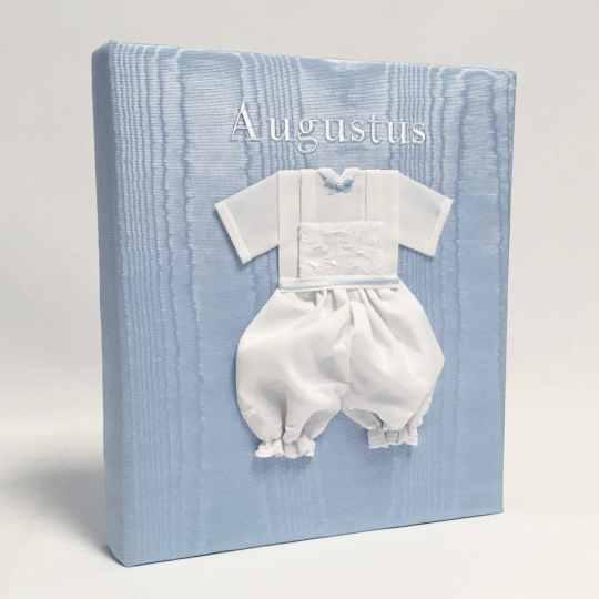Large-Baby-Photo-Album-AR11-22B-Blue-Bodoni-White-Thread-alt