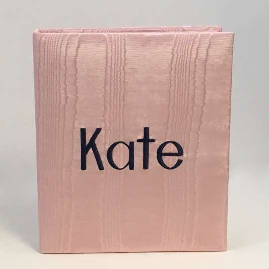 AR11-1-Baby-Pink-Moire-Style-8-Navy-Blue-Thread-Kate