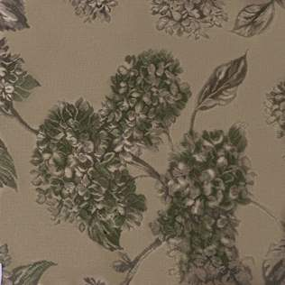 Fabric-Swatch-Brocade-Hydrangeas-on-Moss-Green-Brocade