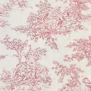 Fabric-Swatch-Cotton-Toile-Pink-Cotton