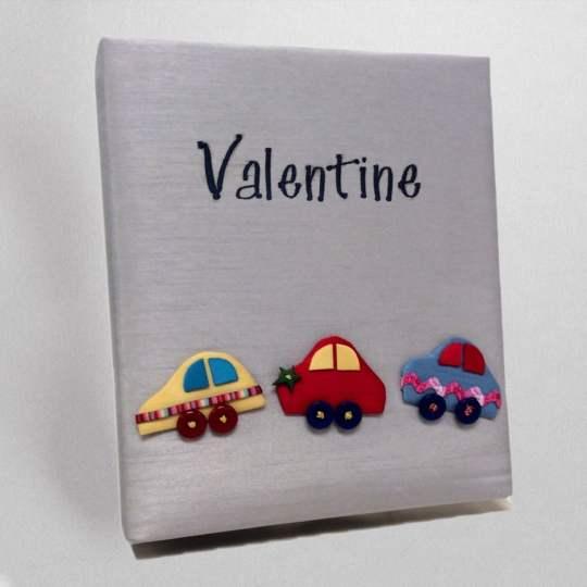 KBRE-45-Gray-Shantung-Style-151-Dark-Blue-Thread-Valentine