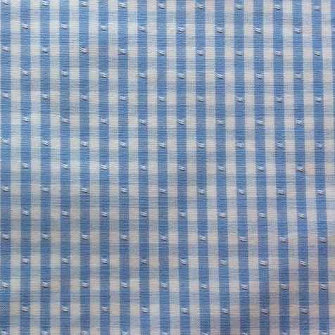 Fabric-Swatch-Cotton-Gingham-Blue-Cotton-Gingham