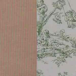 Fabric-Swatch-Cotton-Pink-and-Green-Striped-with-Celadon-Toile-Cotton