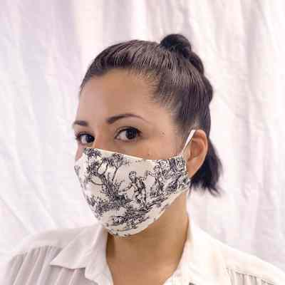Face-Mask-French-Countryside-Adult-Model