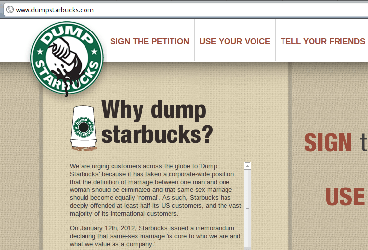 Will you be dumping your Starbucks coffee or drinking more?