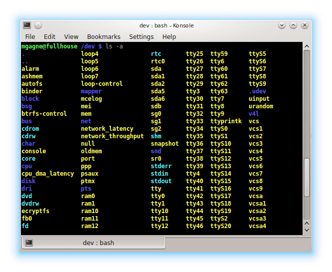Mastering the Linux Shell : Files and Directories