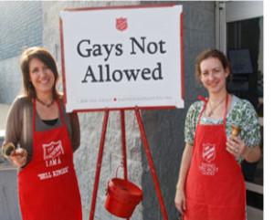 Salvation Army : Gays Deserve To Die!