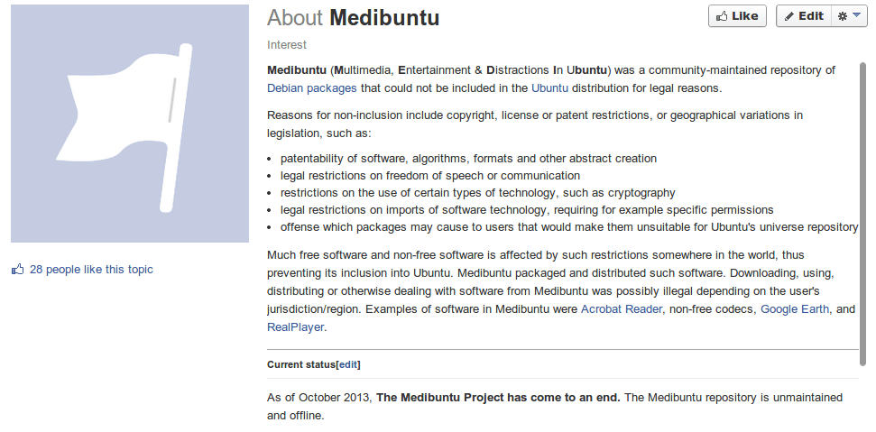 Medibuntu Is No More