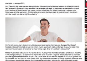 Interview Paul Oakenfold